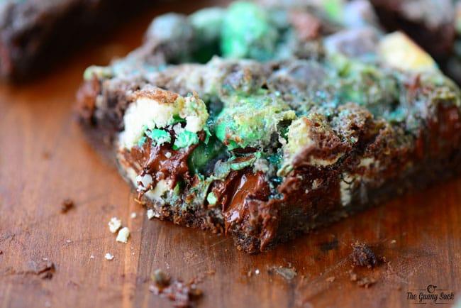 Chocolate Mint M&M Bars Recipe