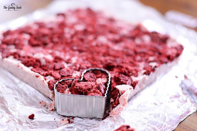 Heart Shaped Fudge Recipe