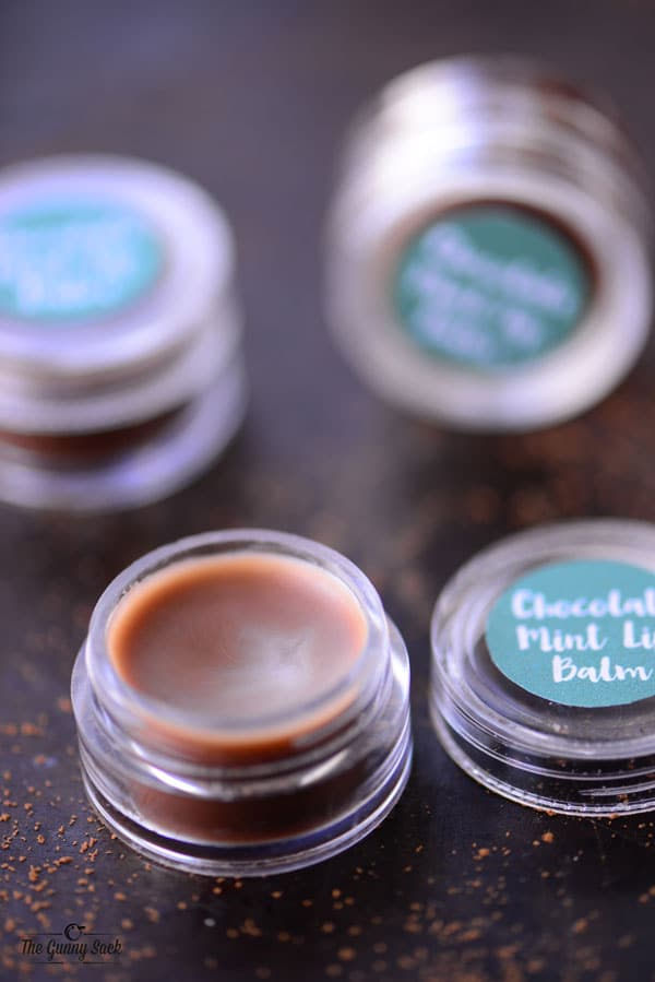 Chocolate Mint Lip Balm Recipe