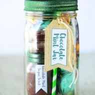Chocolate Mint Mason Jar Gift