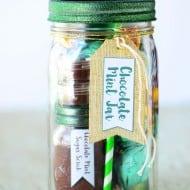 Chocolate Mint Mason Jar
