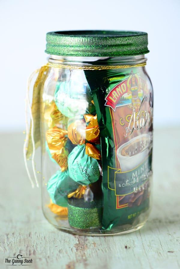 Chocolate Mint Mason Jar Gift