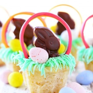 Easter Basket Cookie Cups Recipe