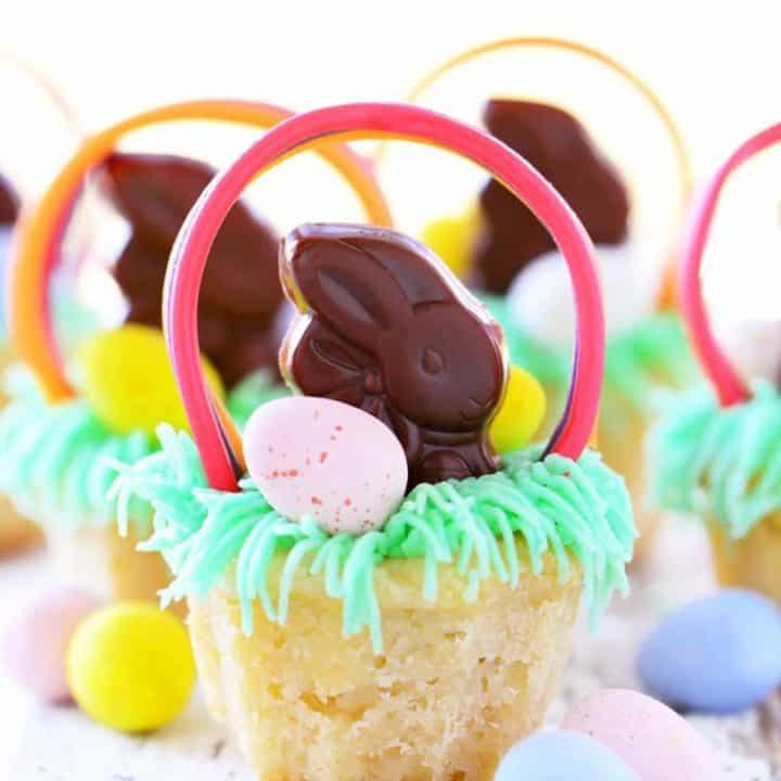 Easter Basket Cookie Cups