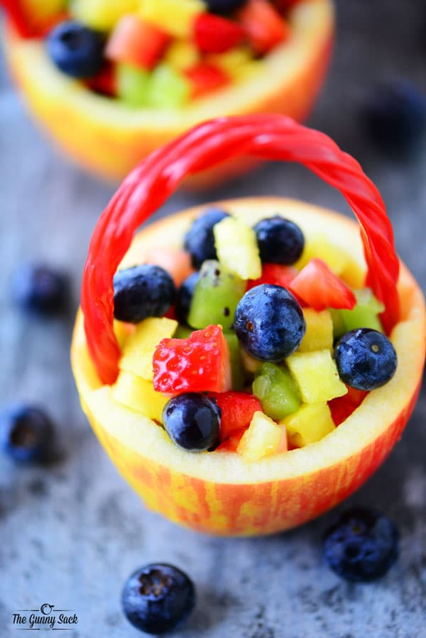 Healthy Easter Fruit Basket