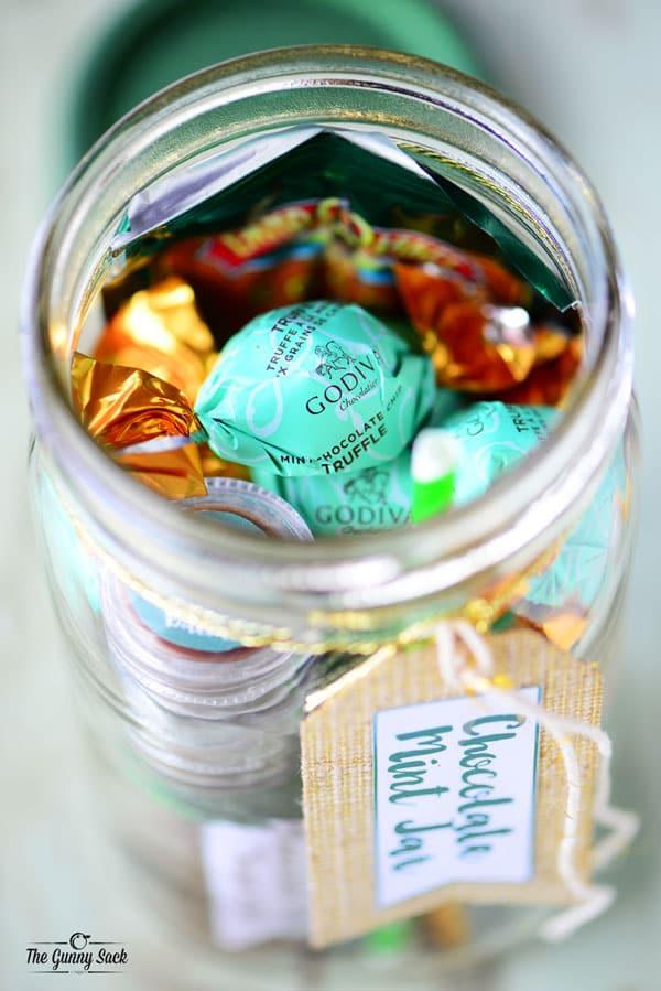 Mint Mason Jar
