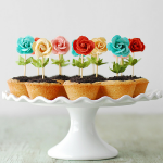 Flower Pot Cookie Cups