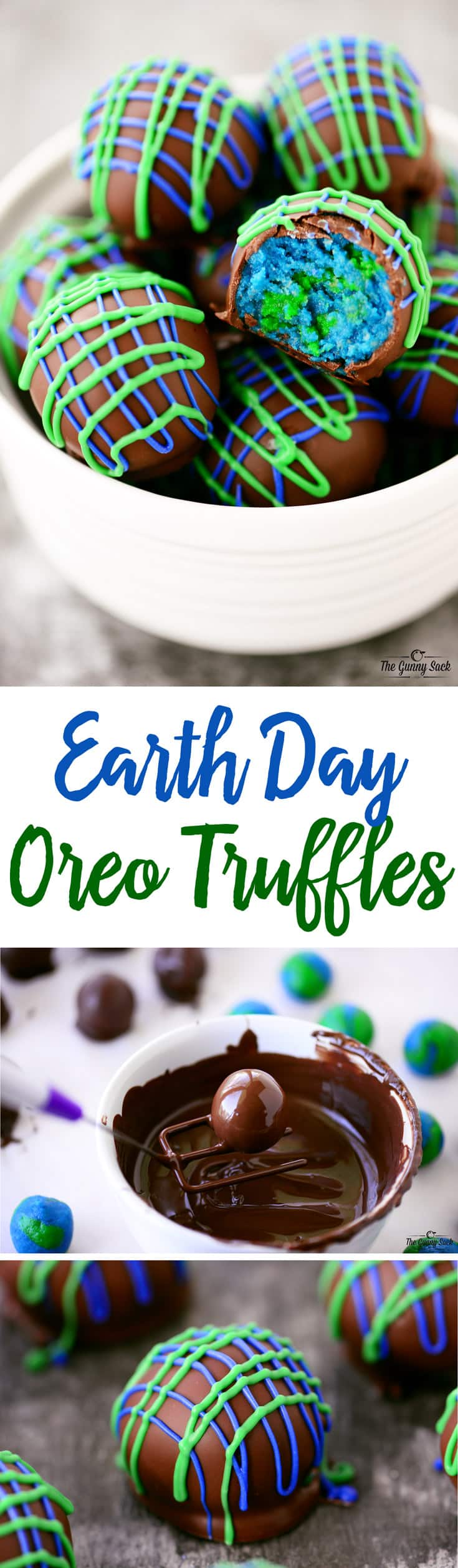 Earth Day Oreo Truffles Recipe