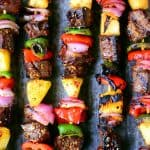 Hawaiian Steak Kabobs Recipe