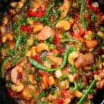 Slow Cooker Cashew Chicken Recipe