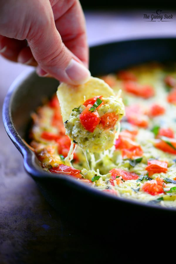 Cheesy Caprese Dip Recipe