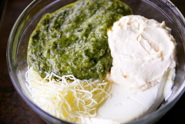Hot Pesto Dip Recipe