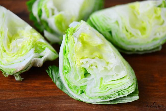 Iceberg Lettuce Wedge Salad