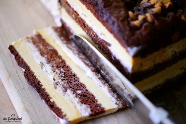 Loaf Pan Ice Cream Cake