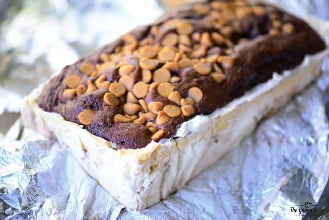 Peanut Butter Chocolate Ice Cream CAke