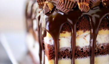Peanut Butter Cup Ice Cream Cake Recipe