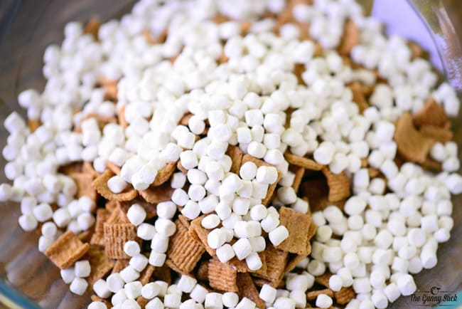 S'more Puppy Chow