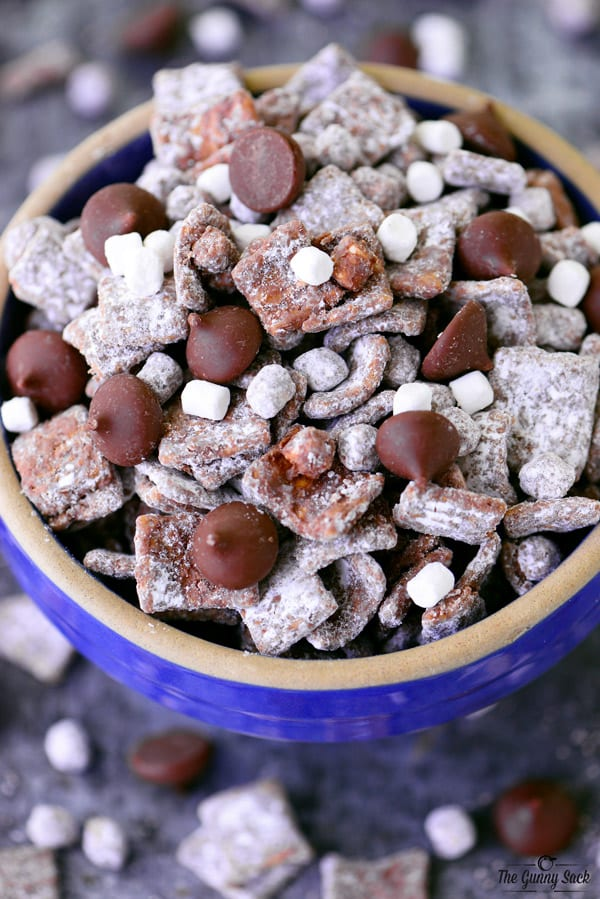 S'mores Puppy Chow from above