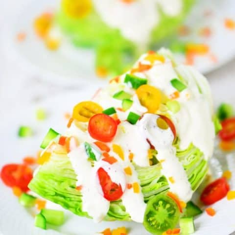 Wedge Salad Veggie Recipe