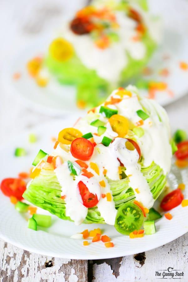 Wedge Salad Veggie Recipe