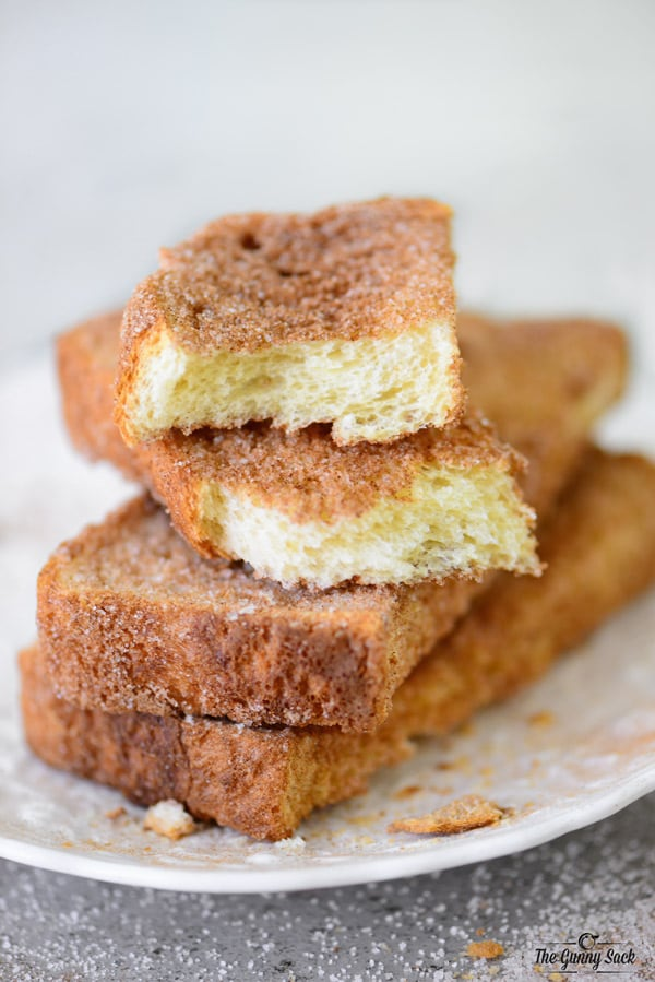 Cinnamon Snack Toast Recipe