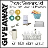 Drop Of Sunshine Giveaway