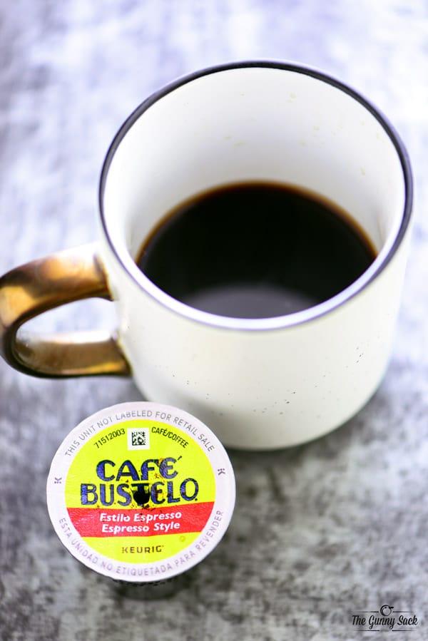 Espresso in Keurig
