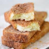 Cinnamon Snack Toast