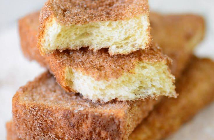 Homemade Cinnamon Snack Toast Recipe