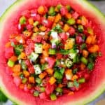 Easy Watermelon Salsa Recipe