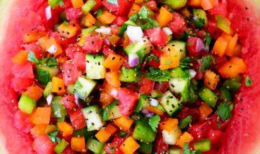 Easy Watermelon Salsa Recipe