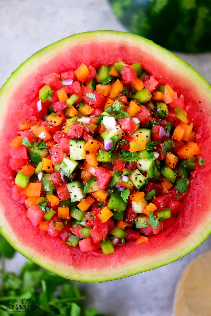 Watermelon Salsa Recipe The Gunny Sack
