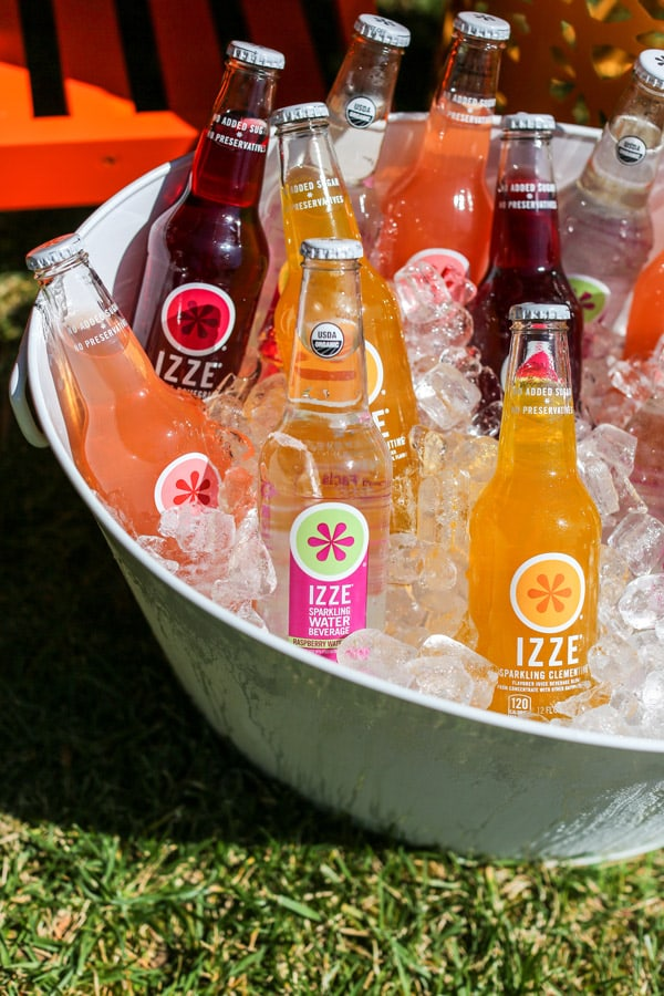 Izze In A Bucket