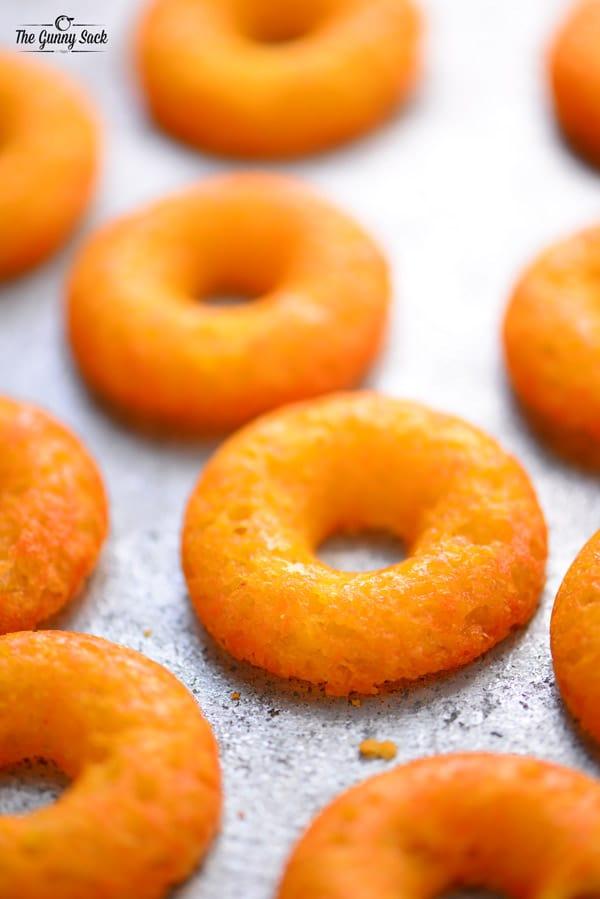 Crispy Cheddar Cheese Donuts