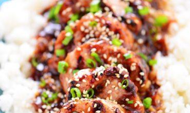 Honey Sesame Pork Tenderloin