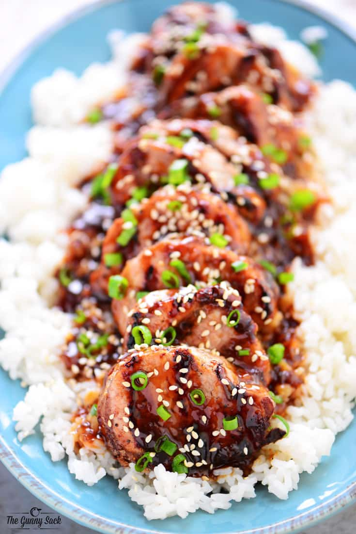 Honey Sesame Pork Tenderloin The Gunny Sack