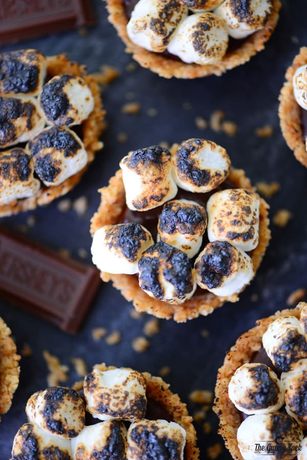 Store the no bake s'mores cookie cups in the fridge or freezer until ...