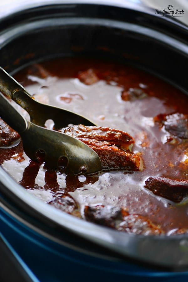 slow cooker grape jelly ribs recipe the gunny sack