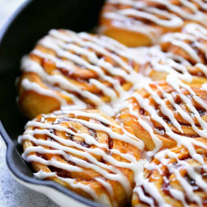 Crescent Roll Pumpkin Cinnamon Rolls Recipe