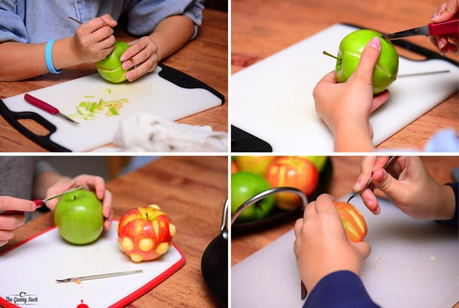 How To Carve Apples
