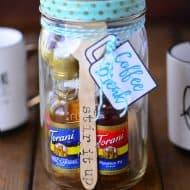 Coffee Break Mason Jar Gift