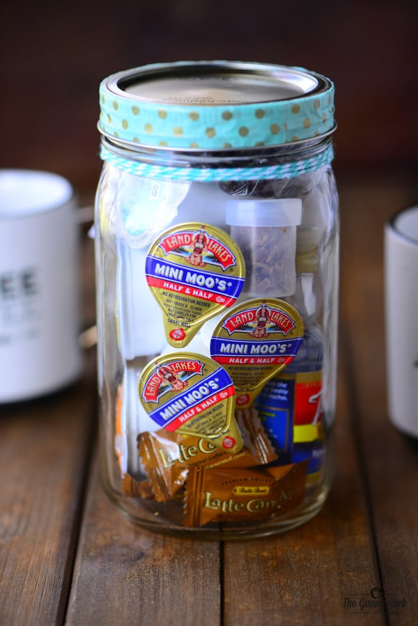 Coffee Break Mason Jar Gift Idea