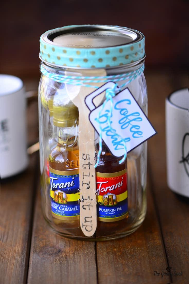 Coffee Break Mason Jar Gift The Gunny Sack