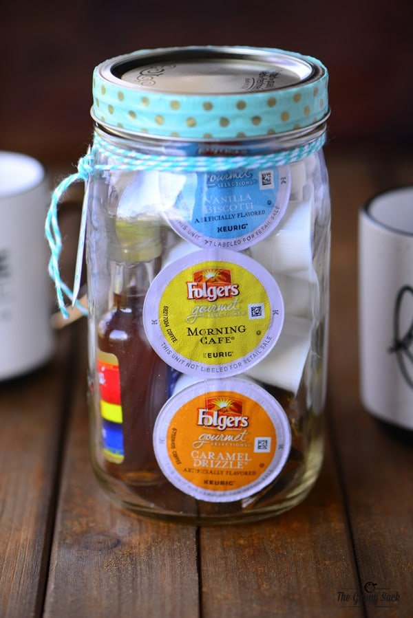 Coffee Mason Jar Gift