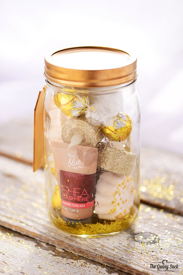 Gold Pampering Jar