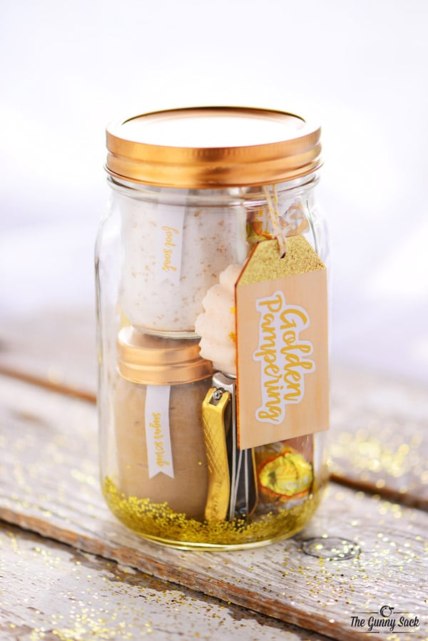 Golden Pampering Jar