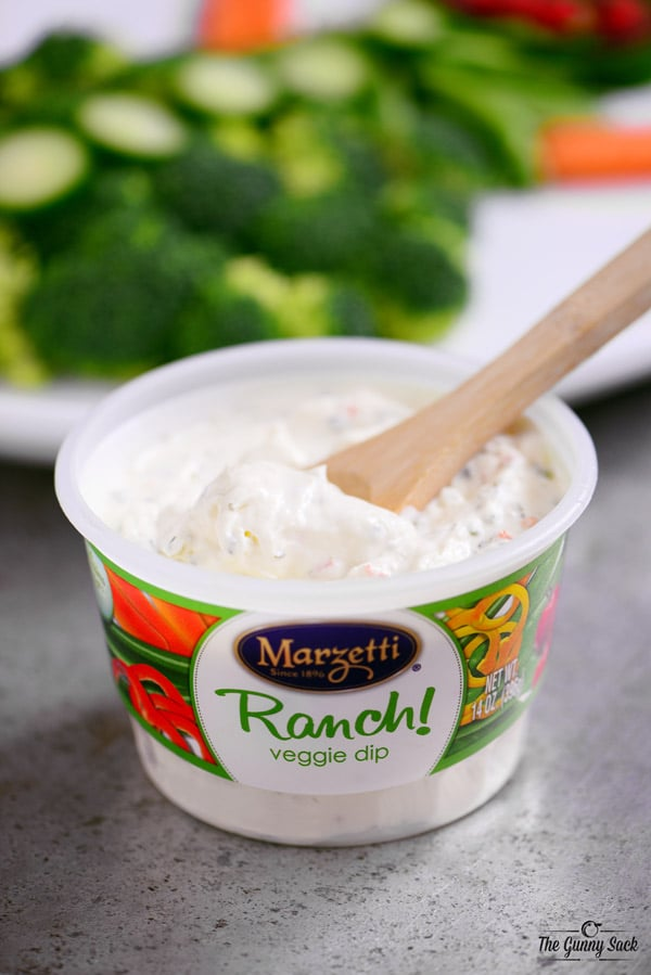 Marzetti Ranch Veggie Dip For Holiday Parties