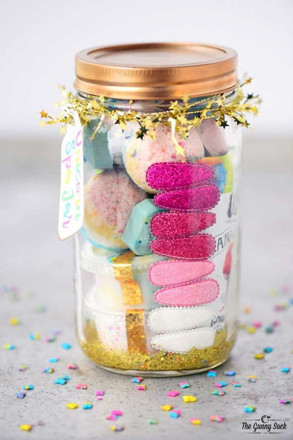 Sparkle Spa Jar