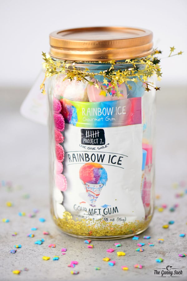 Unicorn Mason Jar Gift