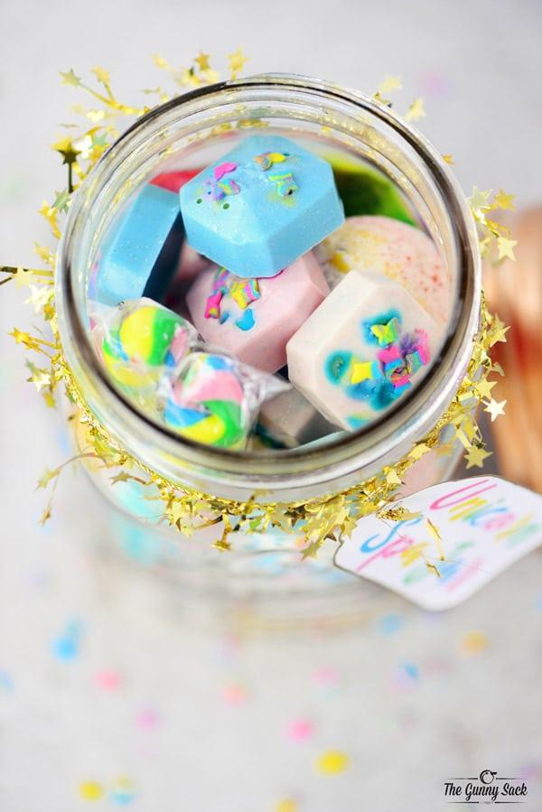 Unicorn Pampering Jar